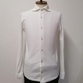 アバハウス(ABAHOUSE)の【ABAHOUSE RECENCY OF MINE】ワイドカラーニットシャツ(シャツ)