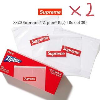 シュプリーム(Supreme)のSupreme シュプリーム ZIPLOC ジップロック 2箱セット(その他)