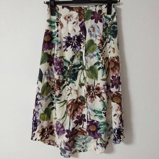 dholic - dholic 花柄スカート