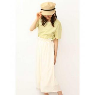プロポーションボディドレッシング(PROPORTION BODY DRESSING)の楊柳ギャザースカート(ロングスカート)
