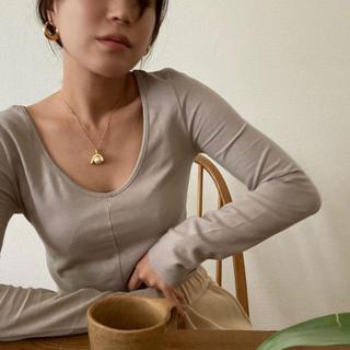 ケービーエフ(KBF)のNokcha「Round neck tee」(Tシャツ(長袖/七分))