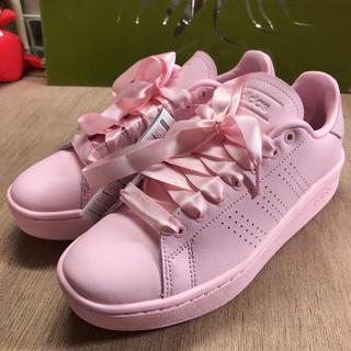 adidas - アディダス 24cm スニーカー アドバンコート ピンク