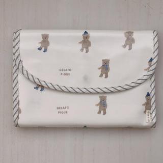 ジェラートピケ(gelato pique)のgelato pique ジェラートピケ 母子手帳ケース ジャバラ型(母子手帳ケース)