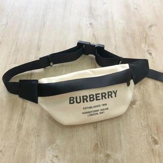 BURBERRY - BURBERRY バーバリー ウエストバッグ ウエストポーチ ロゴ