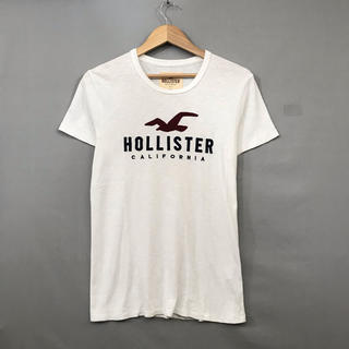 ホリスター(Hollister)のホリスター HOLLISTER Tシャツ 半袖 丸首 トップス カモメ ビッグ(Tシャツ/カットソー(七分/長袖))