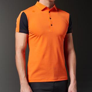 デサント(DESCENTE)の M新品定価15400円 デサント メンズ 半袖ポロシャツ(ウエア)