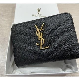 Yves Saint Laurent Beaute - YSL 長財布 ブラック 二つ折り ノベルティ