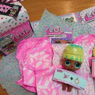 lol l.o.l プレゼント FESTIVE B.B. フェスティブ 8月(キャラクターグッズ)