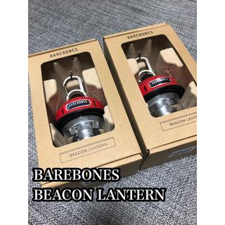 Snow Peak - 【新品未開封】BAREBONES BEACON LANTERN×2 RED
