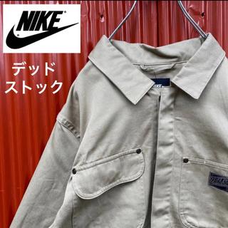 ナイキ(NIKE)の☆タグ付き未使用品☆ナイキSB☆4ポケット☆カバーオール☆ワンポイント筆記ロゴ(カバーオール)