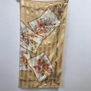 バーバリー(BURBERRY)の未使用★Burbeerrysのスカーフ★素敵な花柄★バーバリー(バンダナ/スカーフ)