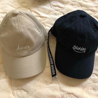 アヴィレックス(AVIREX)のAVIREX DICKIES キャップ キッズ(帽子)
