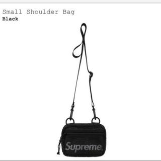シュプリーム(Supreme)のsupreme Small Shoulder Bag 黒 (ショルダーバッグ)