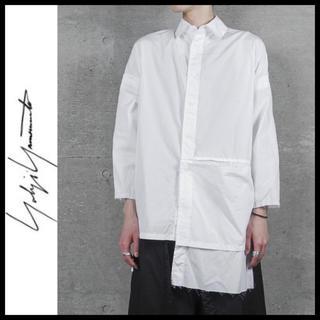 ヨウジヤマモト(Yohji Yamamoto)のB Yohji Yamamoto 17ss アシメントリーシャツ ユニセックス(シャツ)