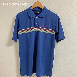 ザノースフェイス(THE NORTH FACE)のTHE NORTH FACE  ノースフェイス メンズ ポロシャツ 紺色 夏(ポロシャツ)