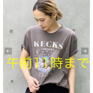 L'Appartement DEUXIEME CLASSE - GOOD ROCK SPEED/グッドロックスピード イーグルプリント Tシャツ