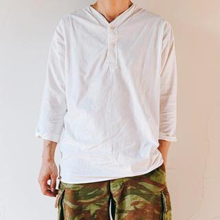 ワンエルディーケーセレクト(1LDK SELECT)のロシア軍 Vネック スリーピングシャツ 50 デッド m47 m-47 m52(Tシャツ/カットソー(七分/長袖))