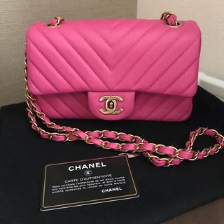 CHANEL - 綺麗品♥️21番本物シャネル❤️マトラッセ coco20チェーンショルダーバッグ