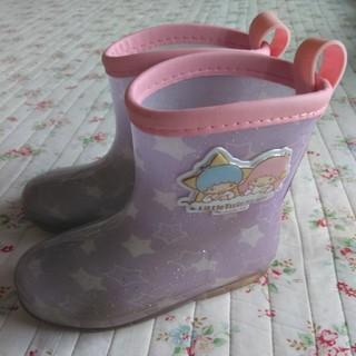 フタフタ(futafuta)の長靴 レインシューズ 15cm フタフタ キキララ ラベンダー 紫(長靴/レインシューズ)