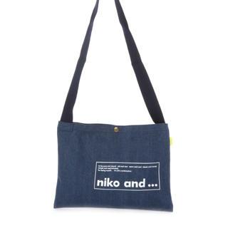 ニコアンド(niko and...)のオリジナルニコロゴトート/サコッシュ(ショルダーバッグ)