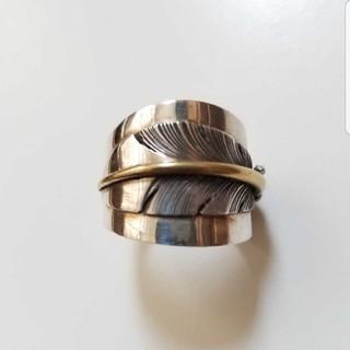 期間限定出品 フェザーリング  シルバー 925 ナバホ 22号(リング(指輪))