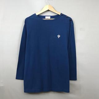 【良品】アルボーマレー ARVOR MAREE 長袖シャツ サーフィン 丸首(Tシャツ/カットソー(七分/長袖))