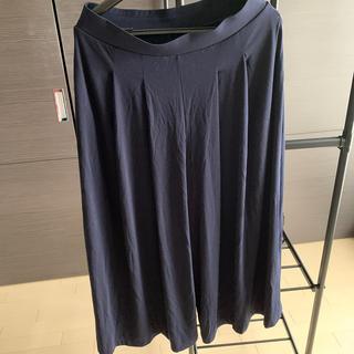 UNIQLO - ユニクロ パンツ 紺 XL