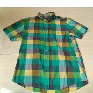GU - GU 半袖シャツ メンズシャツ