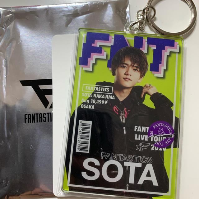 EXILE TRIBE(エグザイル トライブ)の中島颯太 フォトキーホルダー fnt エンタメ/ホビーのタレントグッズ(ミュージシャン)の商品写真