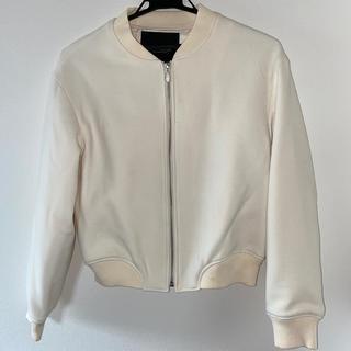 ダブルスタンダードクロージング(DOUBLE STANDARD CLOTHING)のDOUBLE STANDARD CLOTHING★MA1 ホワイト(ブルゾン)