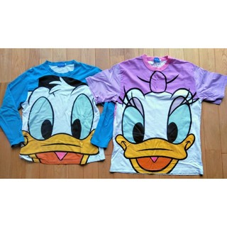 Disney - ディズニーTシャツ カットソー デイジードナルド ペア