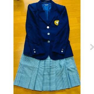 高校制服 (ジャケット ベスト リボン スカート)