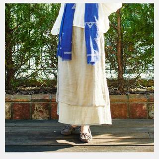 マライカ(MALAIKA)の新品‼️マライカ GA-ON レイヤードスカート(ロングスカート)