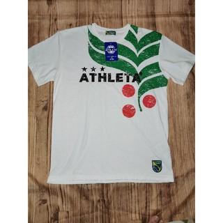 ATHLETA - 新品アスレタ ATHLETA メンズサッカーフットサル半袖シャツロゴTシャツ