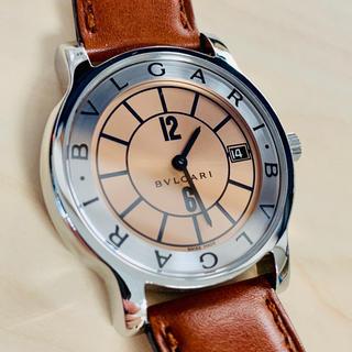 ブルガリ(BVLGARI)の[希少品] ブルガリ ソロテンポ ST35s JAL機内限定版 BVLGARI(腕時計(アナログ))