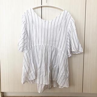 ドアーズ(DOORS / URBAN RESEARCH)のアーバンリサーチ♡ストライプトップス(シャツ/ブラウス(半袖/袖なし))