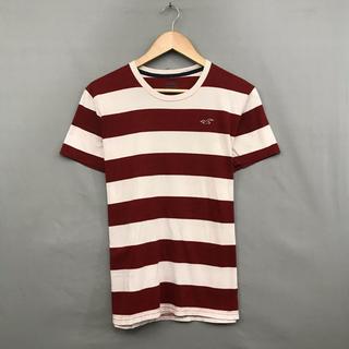ホリスター(Hollister)のホリスター HOLLISTER 半袖 Tシャツ 丸首 ボーダー トップス(Tシャツ/カットソー(半袖/袖なし))