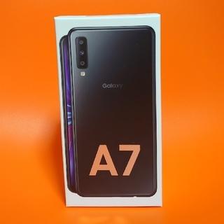 Galaxy - 未開封新品   GALAXY  A7  ブラック