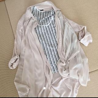 ザラ(ZARA)のZARA自宅試着ノースリーブ(カットソー(半袖/袖なし))