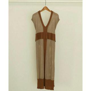 TODAYFUL - todayful  mesh tie dress
