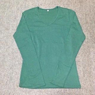 ムジルシリョウヒン(MUJI (無印良品))の無印良品○Vネック長袖Tシャツ(Tシャツ(長袖/七分))