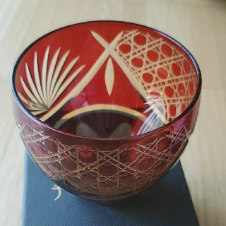 東洋佐々木ガラス - 彩花切子 タンブラー グラス レッド