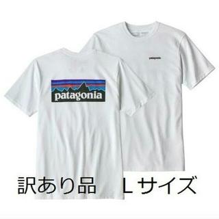 patagonia - 訳あり品 パタゴニアTシャツ 白 ベストセラー クラシックロゴ