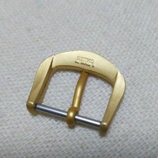 セイコー(SEIKO)のセイコー純正尾錠ゴールド艶無15ミリ、グランドセイコー、キングセイコー(腕時計(アナログ))