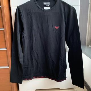 エンポリオアルマーニ(Emporio Armani)の新品未使用タグ付き メンズ エンポリオアルマーニ  ロンT M(Tシャツ/カットソー(七分/長袖))