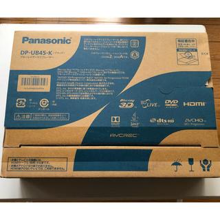 パナソニック(Panasonic)のPanasonicブルーレイディスクプレーヤーDP-UB45-k(ブルーレイプレイヤー)