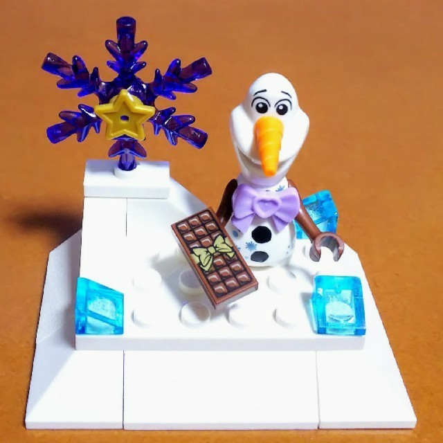 Lego(レゴ)のレゴ★DP オラフ バレンタイン情景 オリジナルアレンジ 美品 人気 残少 キッズ/ベビー/マタニティのおもちゃ(知育玩具)の商品写真