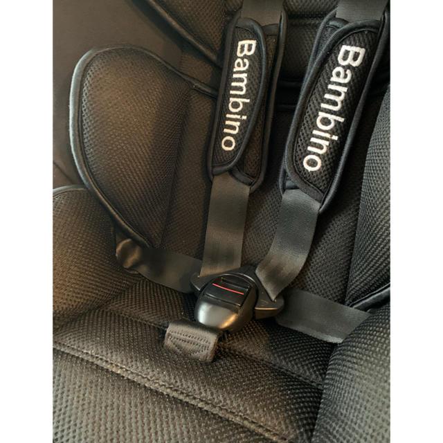 バンビーノ チャイルドシート キッズ/ベビー/マタニティの外出/移動用品(自動車用チャイルドシート本体)の商品写真