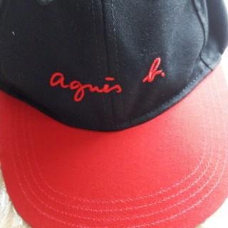 アニエスベー(agnes b.)のアニエスベーキッズキャップ未使用(帽子)