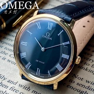 オメガ(OMEGA)のOH済‼︎新品仕上げ★オメガ デビル アンティーク 腕時計 メンズ 1970年代(腕時計(アナログ))